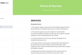 002 Breathtaking Free Cleaning Proposal Template Image  Doc Office Bid