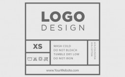 002 Breathtaking Free Clothing Label Design Template Photo  Templates Download