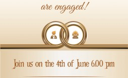 002 Breathtaking Free Engagement Invitation Template Online With Photo Highest Clarity