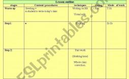 002 Breathtaking Free Printable Lesson Plan Template For Elementary Teacher Idea  Teachers
