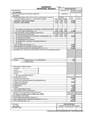 002 Breathtaking Line Item Budget Sample High Definition  Church For Grant Proposal Format320
