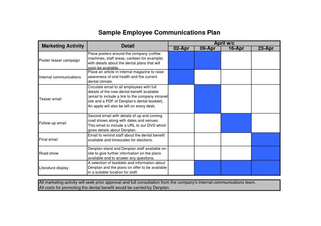 002 Breathtaking Marketing Communication Plan Template Image  Example Pdf Excel IntegratedLarge