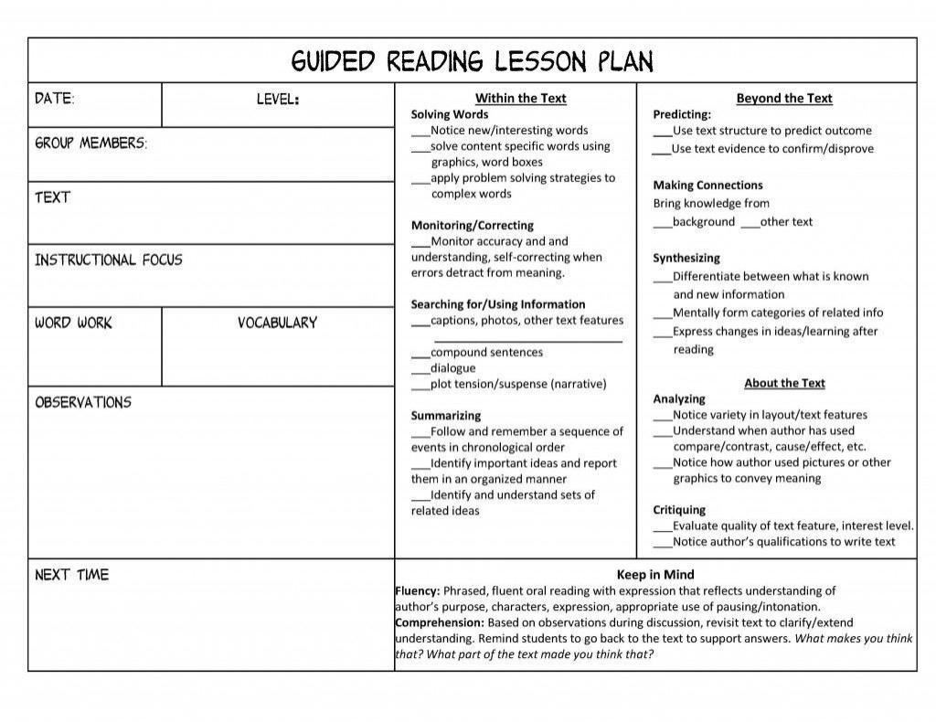 002 Breathtaking Mini Unit Lesson Plan Template Design Large