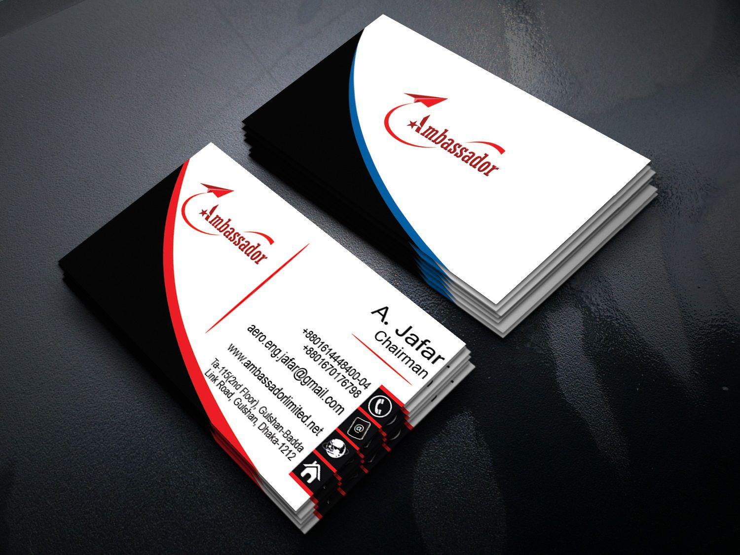 002 Breathtaking Simple Visiting Card Design Psd Concept  Minimalist Busines Template Free File Download In PhotoshopFull
