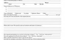 002 Dreaded Accident Report Form Template Picture  Incident Victoria Injury Free