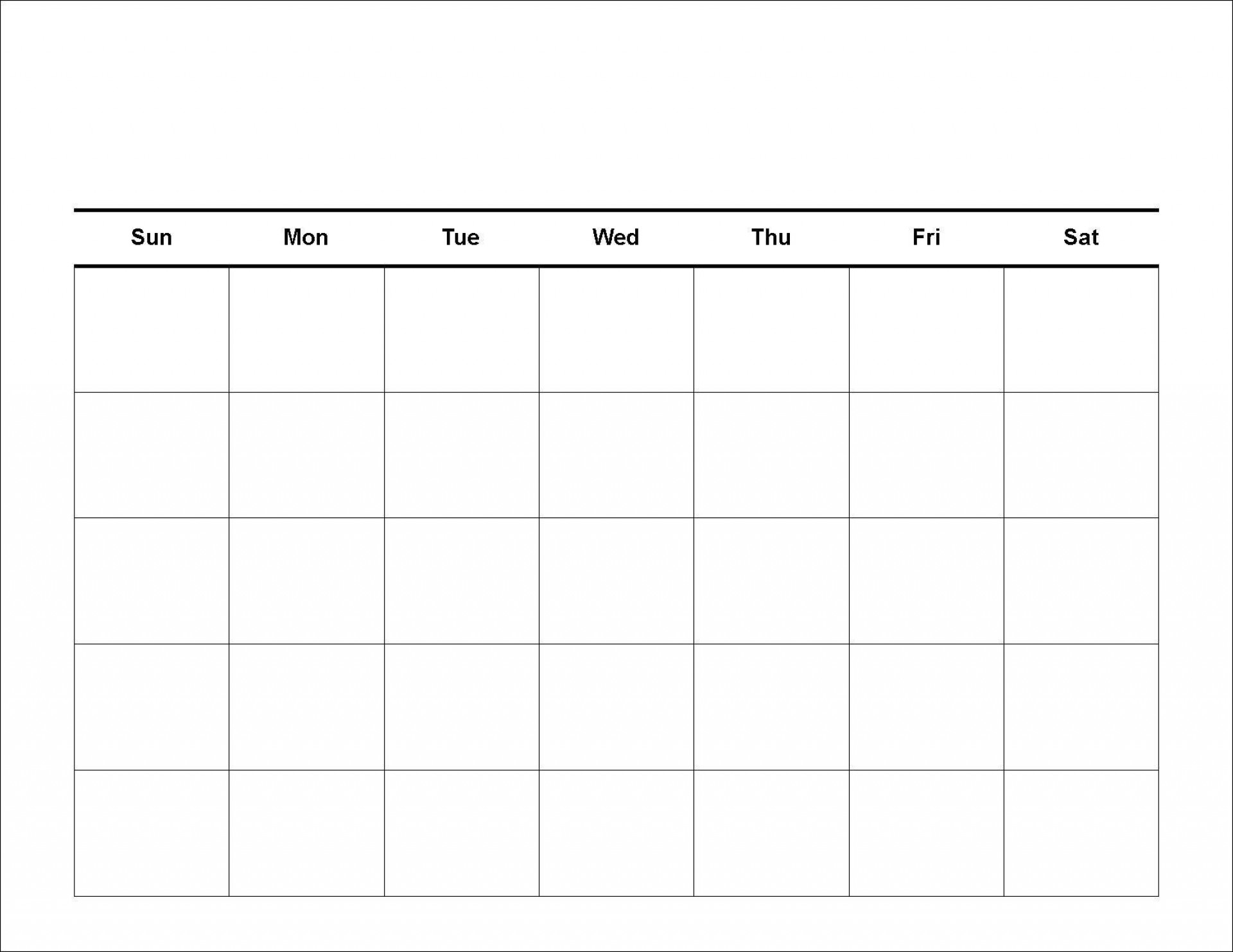 002 Dreaded Blank Calendar Template Pdf High Definition  Free Yearly1920