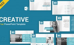 002 Dreaded Creative Powerpoint Template Free Sample  Download Ppt For Teacher