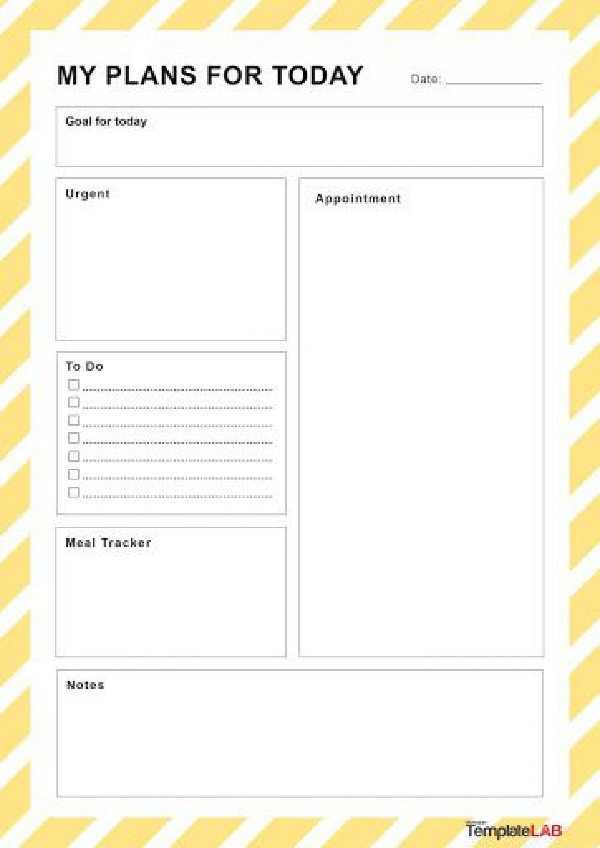 002 Dreaded Daily Schedule Template Printable Concept 1920