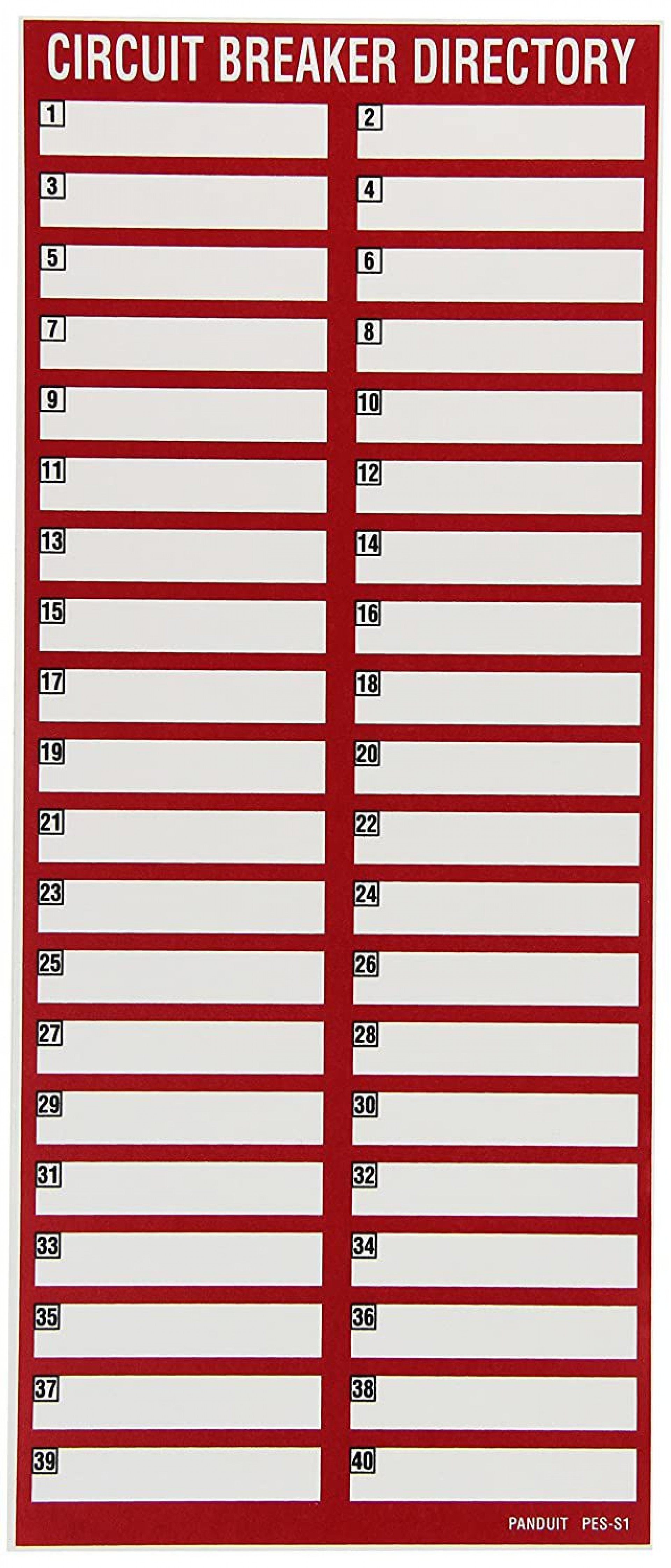 002 Dreaded Electrical Panel Label Template Inspiration  Siemen Free Excel1920