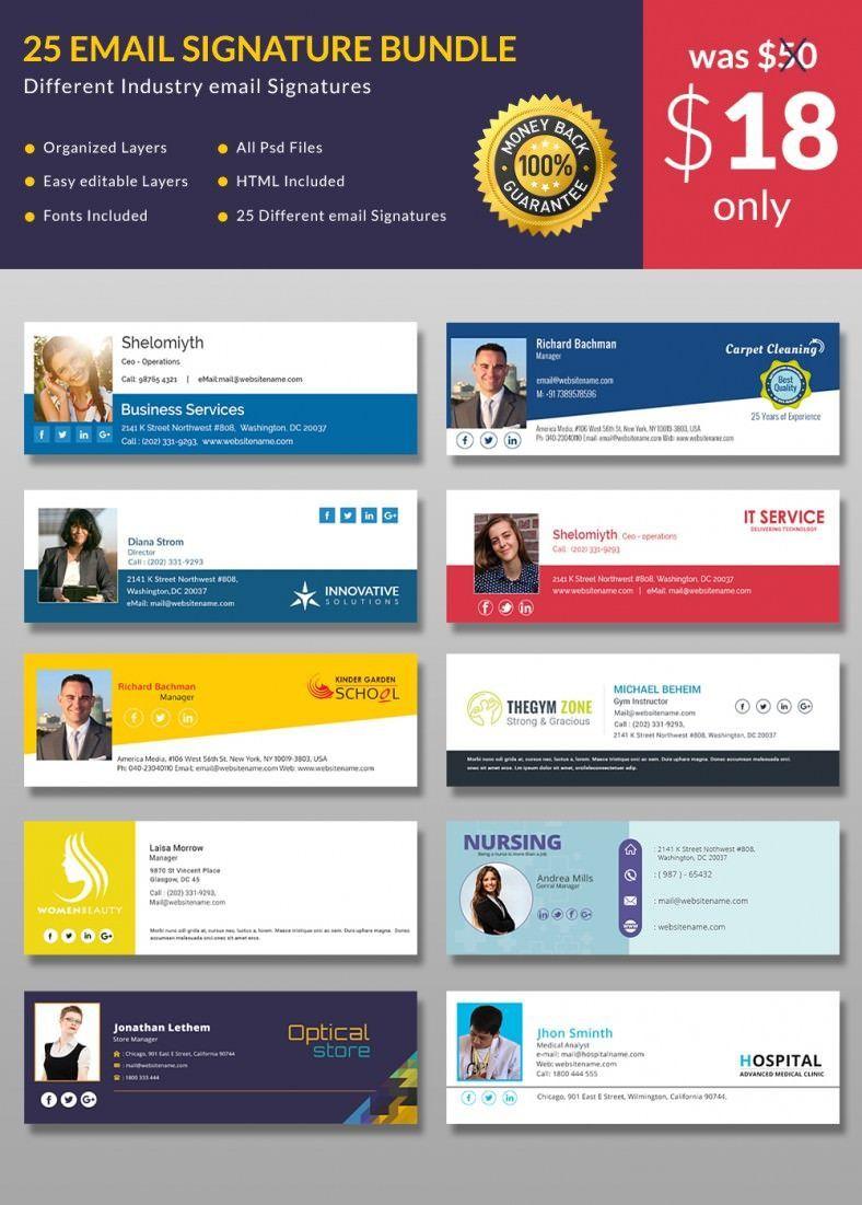 002 Dreaded Email Signature Design Outlook Free Idea Full