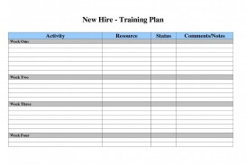 002 Dreaded Employee Training Plan Template Excel High Def  Free Download New Schedule