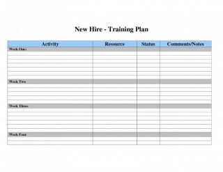 002 Dreaded Employee Training Plan Template Excel High Def  Free Download New Schedule320