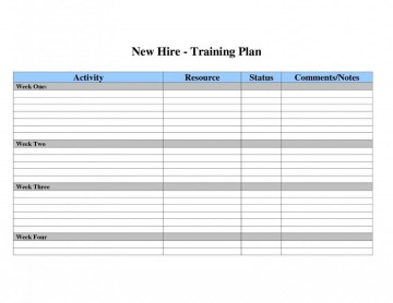 002 Dreaded Employee Training Plan Template Excel High Def  Free Download New Schedule360