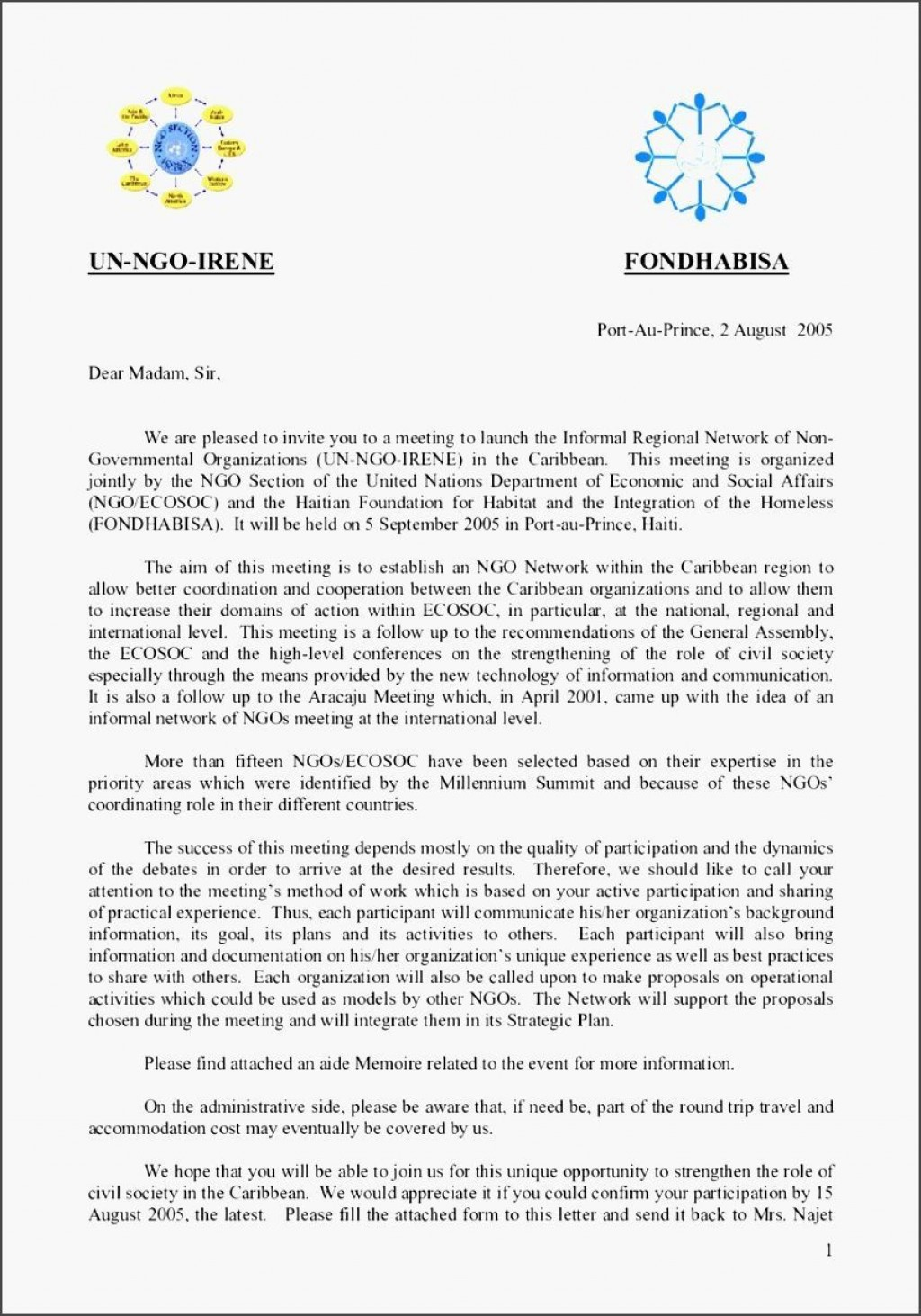 Invite Letter For Event from www.addictionary.org