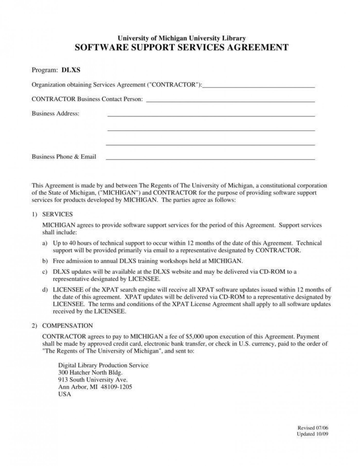 002 Dreaded Free Service Contract Template Pdf Image 1400
