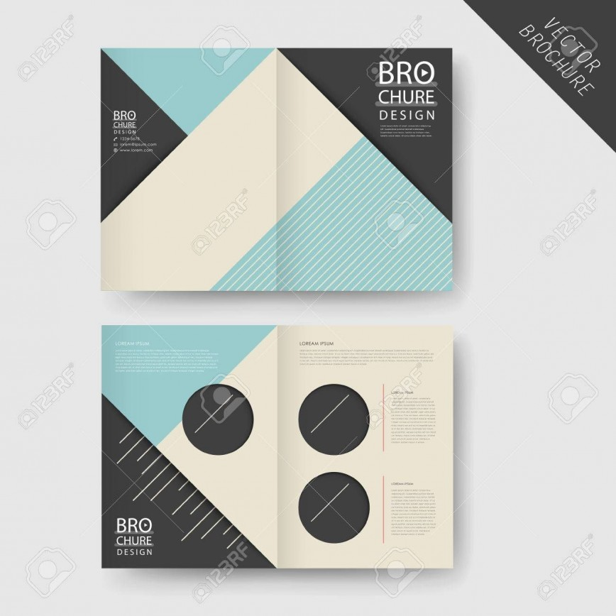002 Dreaded Half Fold Brochure Template High Def  11x17 Indesign Free