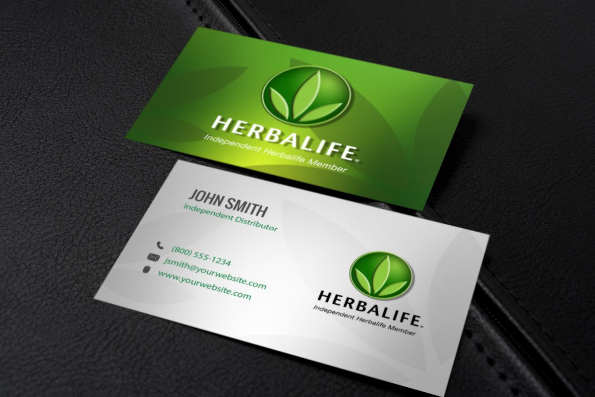 002 Dreaded Herbalife Busines Card Template Highest Clarity  Download FreeFull
