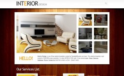 002 Dreaded Interior Design Html Template Free High Def  Download