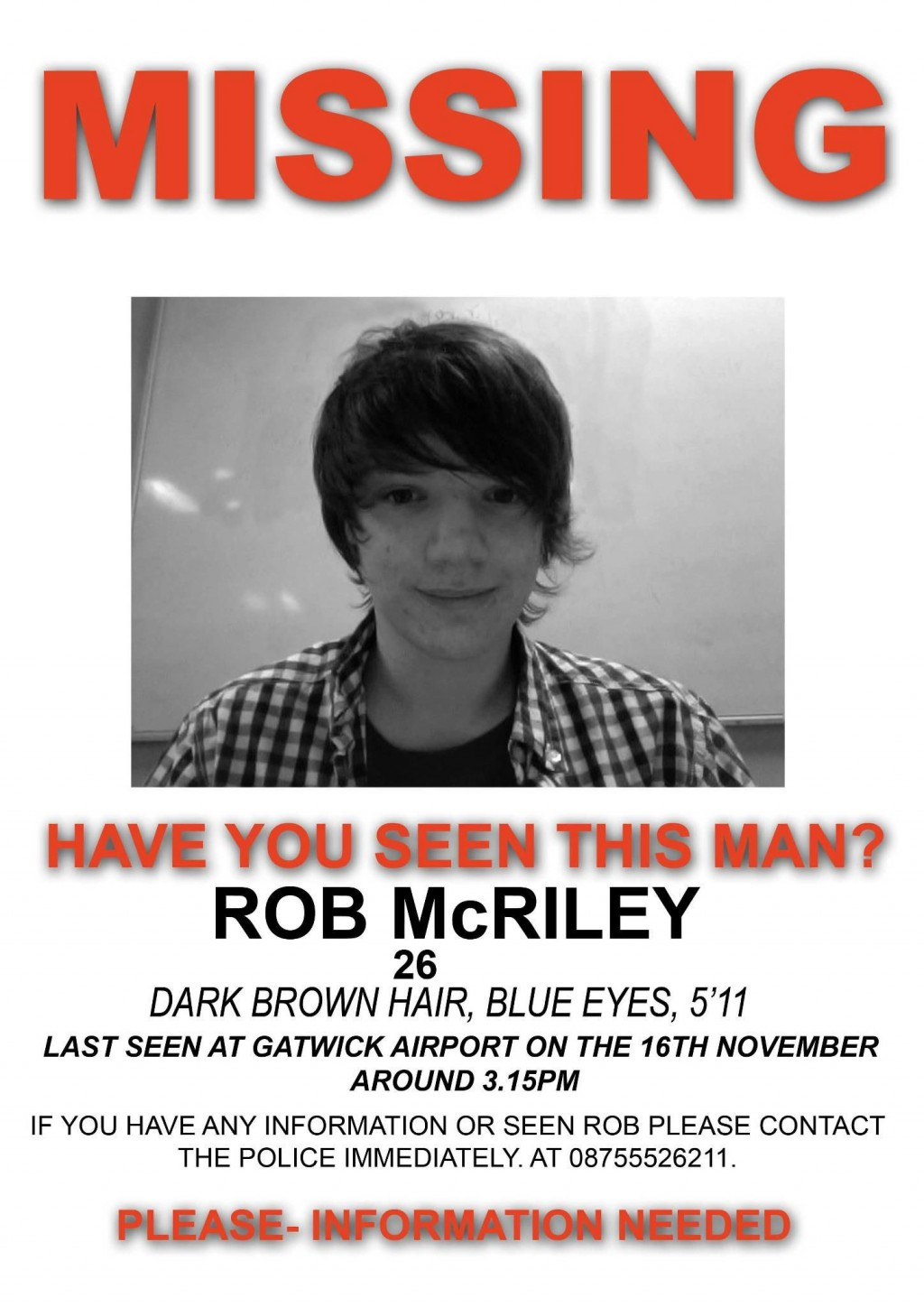 002 Dreaded Missing Person Poster Template Word Inspiration Large