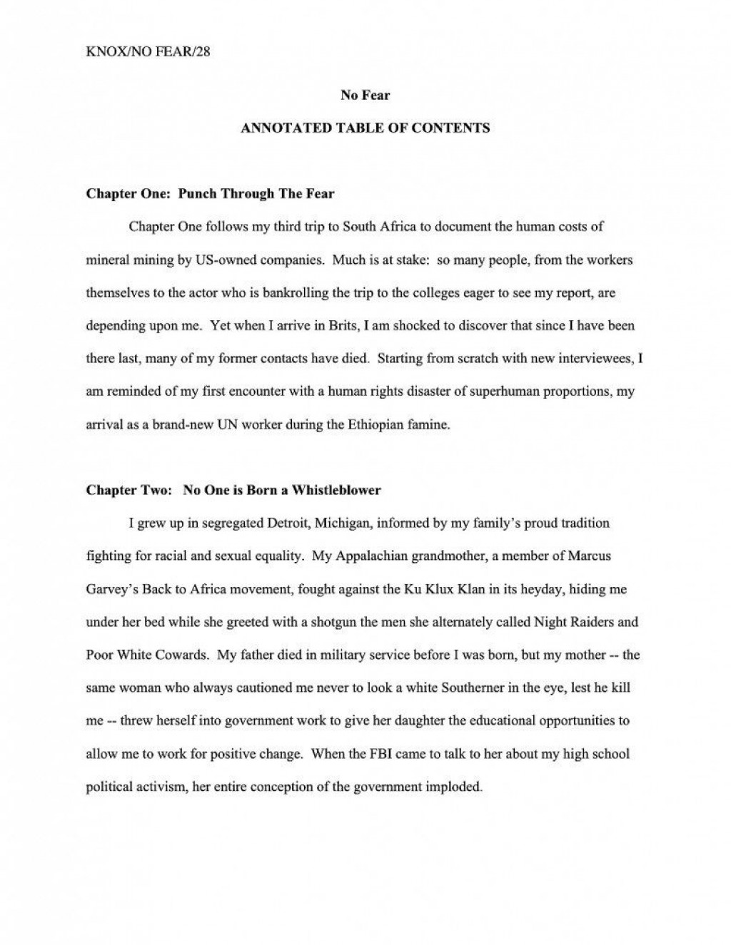 002 Dreaded Nonfiction Book Proposal Template Design  ExampleLarge