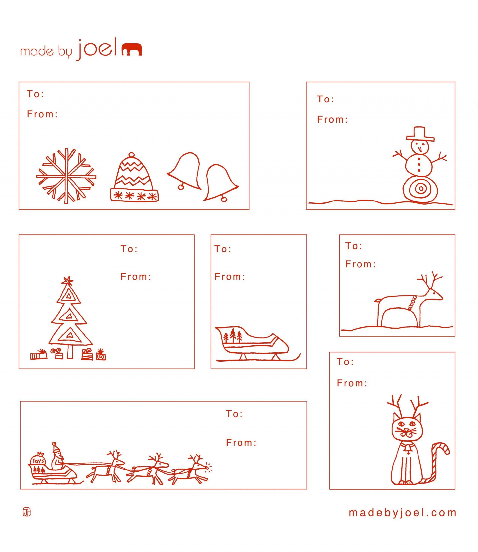 002 Dreaded Printable Christma Gift Tag Template Highest Clarity  Templates Free Holiday For Word1920