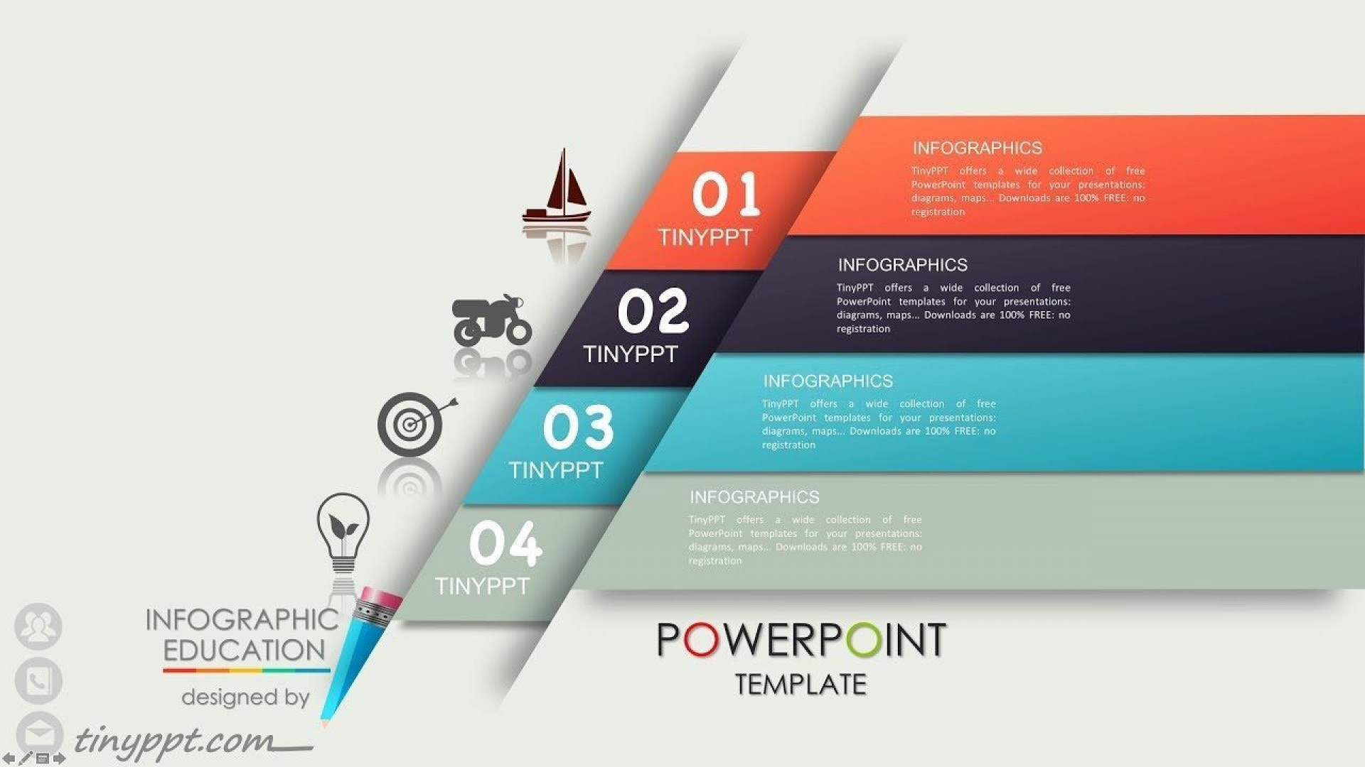 002 Dreaded Simple Ppt Template Free Download For Project Presentation Idea 1920