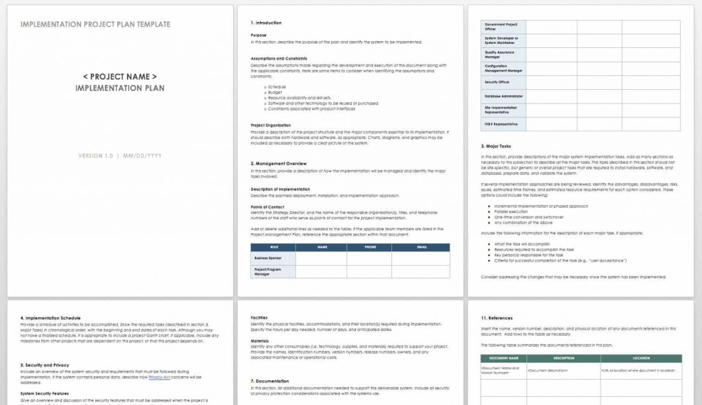 002 Dreaded Simple Project Plan Template Idea  Free Download Management WordLarge