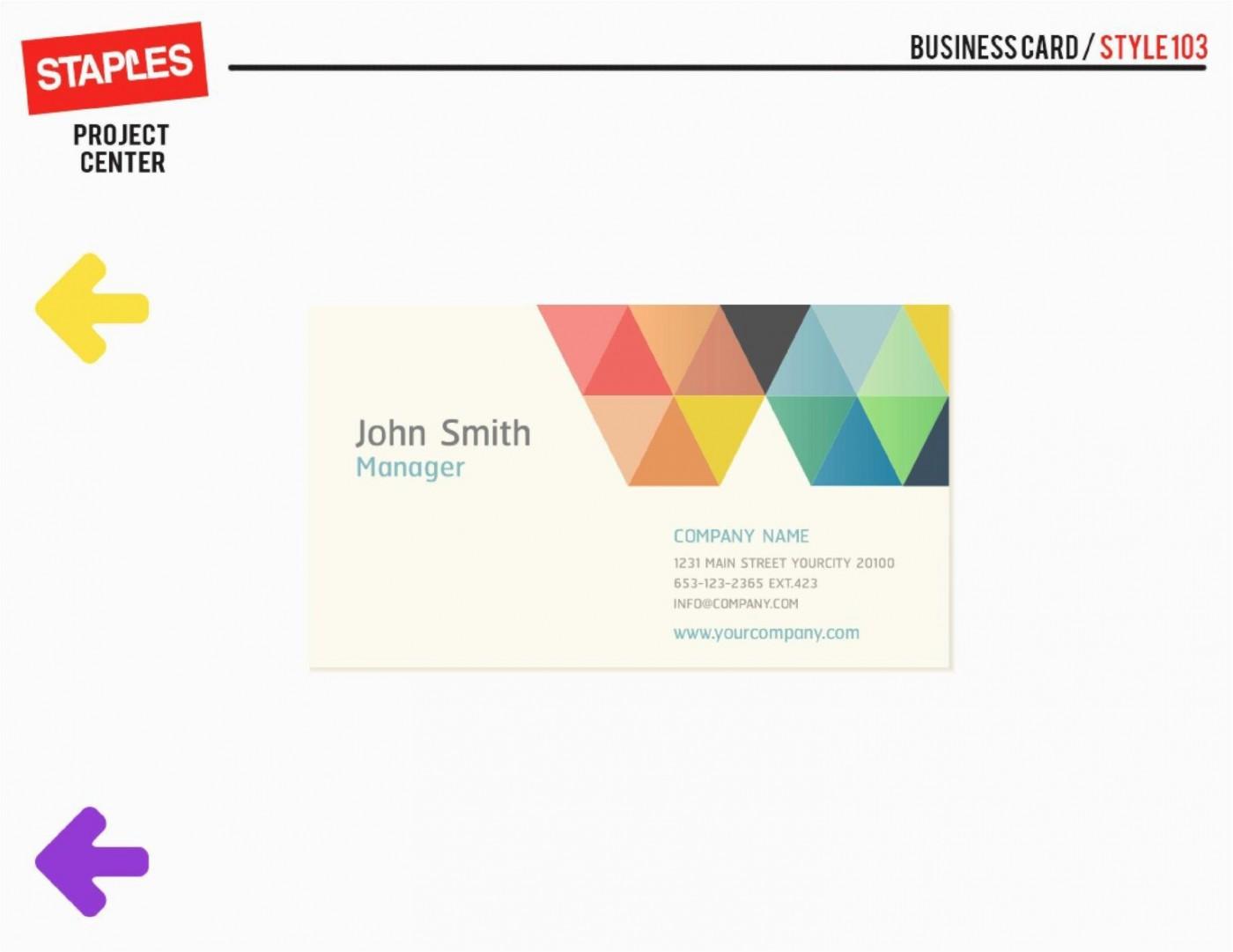 002 Dreaded Staple Busines Card Template Idea  Word Brand Heavyweight1400