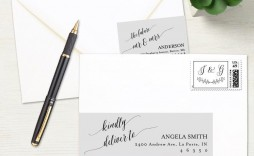 002 Dreaded Wedding Addres Label Template Example  Free Printable