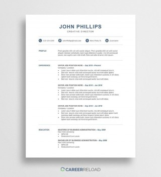 002 Dreaded Word Resume Template Free Image  Microsoft 2010 Download 2019 Modern320