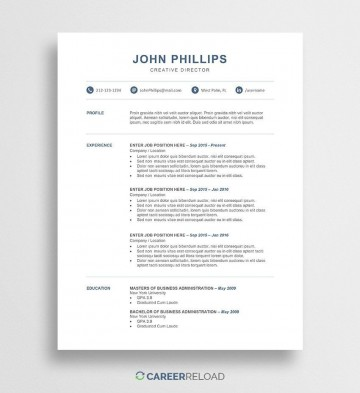002 Dreaded Word Resume Template Free Image  Microsoft 2010 Download 2019 Modern360
