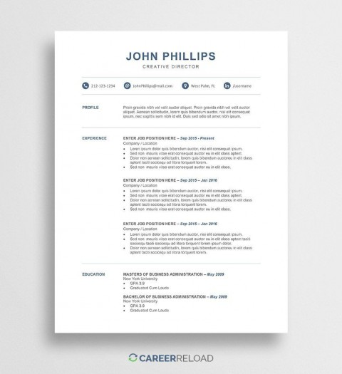 002 Dreaded Word Resume Template Free Image  Microsoft 2010 Download 2019 Modern480