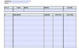 002 Excellent Automotive Repair Invoice Template Concept  Free Auto Pdf Car Form