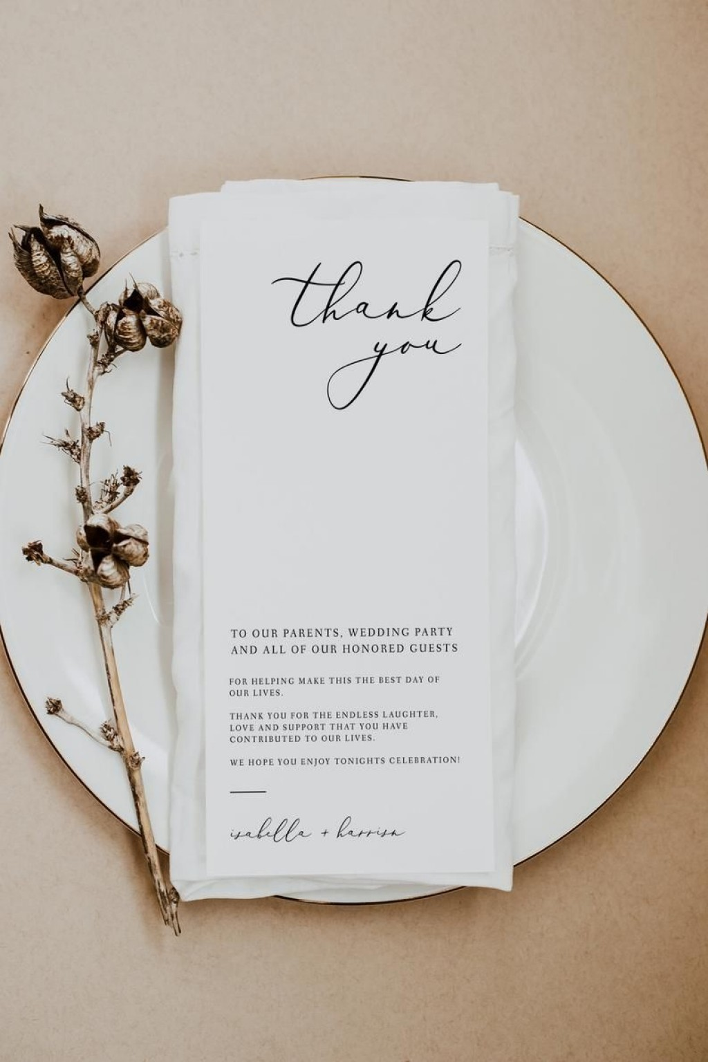 002 Excellent Diy Wedding Thank You Card Template High Def  TemplatesLarge