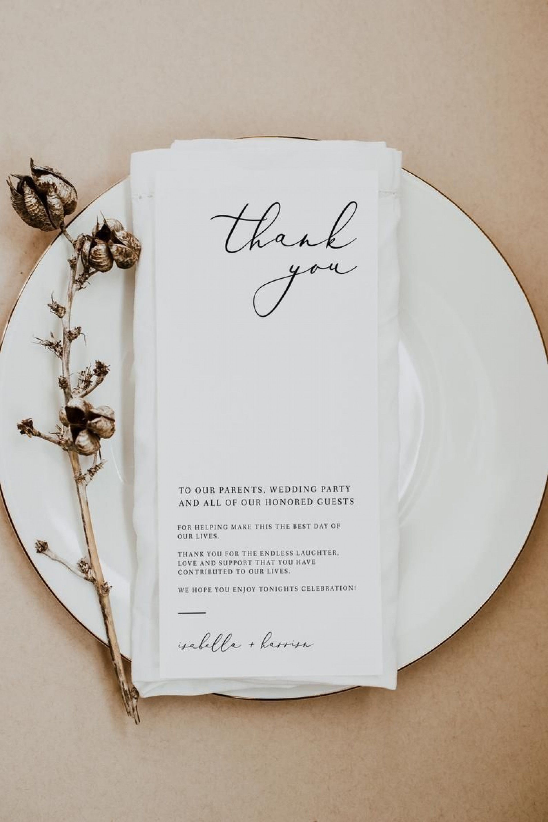 002 Excellent Diy Wedding Thank You Card Template High Def  Templates1920