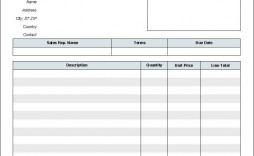002 Excellent Free Blank Invoice Template Excel Inspiration  Download Downloadable