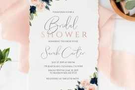 002 Excellent Free Couple Shower Invitation Template Download Idea