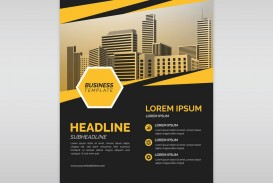 002 Excellent Free Flyer Design Template Photo  Download Psd Simple Uk