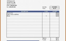 002 Excellent Free Printable Invoice Template Download Concept  Downloadable Pdf Blank Word
