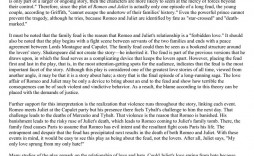 002 Excellent Romeo And Juliet Essay Idea  Who I Responsible For Juliet' Death Introduction Hook Question Pdf