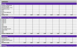 002 Exceptional Budget Tracker Excel Template Concept  Wedding Personal Expense Free Project