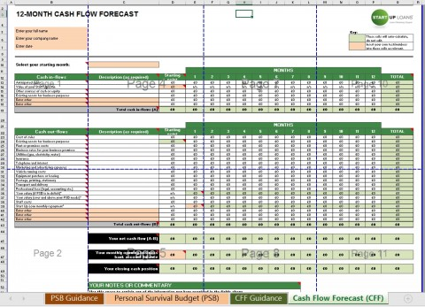 002 Exceptional Cash Flow Statement Format Excel Free Download High Resolution  Indirect Method In Direct480