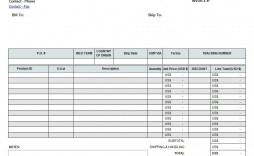 002 Exceptional Commercial Invoice Template Excel Image  Free Download
