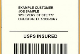 002 Exceptional Free Usp Shipping Label Template Sample