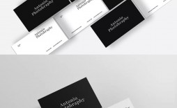 002 Exceptional Minimal Busines Card Template Psd Photo  Simple Visiting Design In Photoshop File Free Download