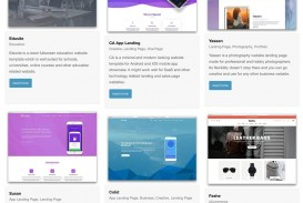 002 Exceptional One Page Website Template Free Download Html Idea  Simple With Cs Responsive