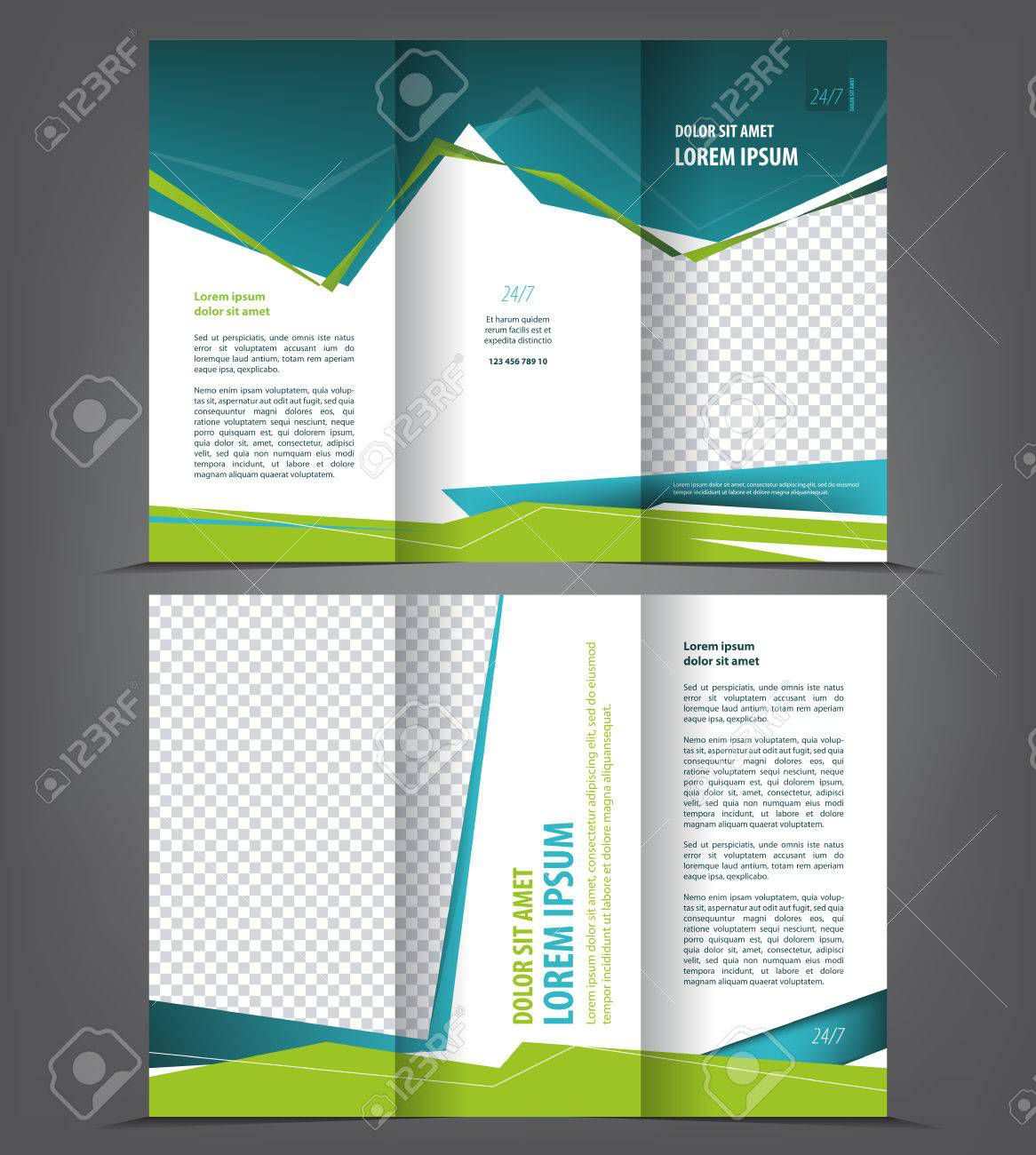 002 Exceptional Three Fold Brochure Template Free Download High Def  3 Publisher PsdFull