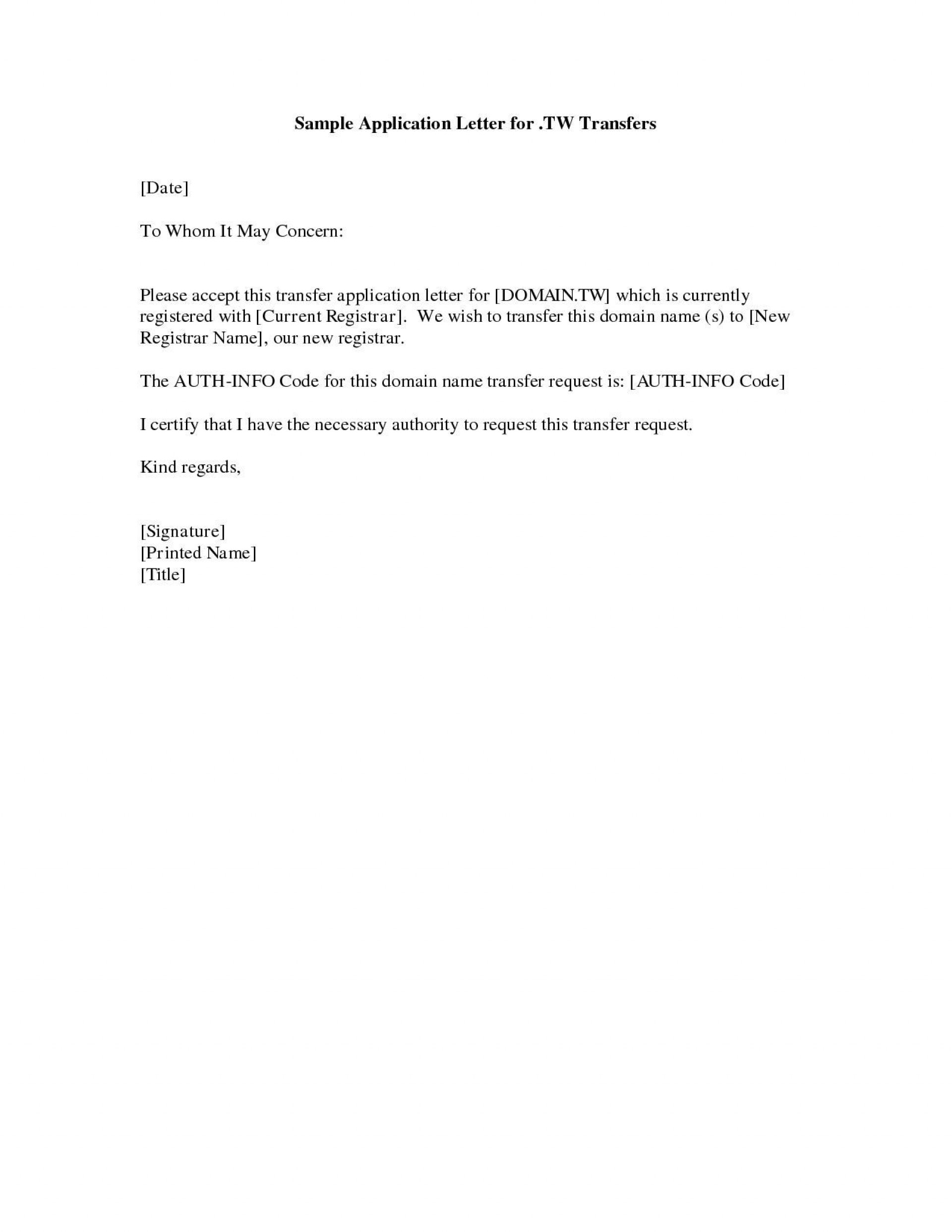 002 Fantastic Basic Covering Letter Template Highest Quality  Simple Application Job Sample Cover1920