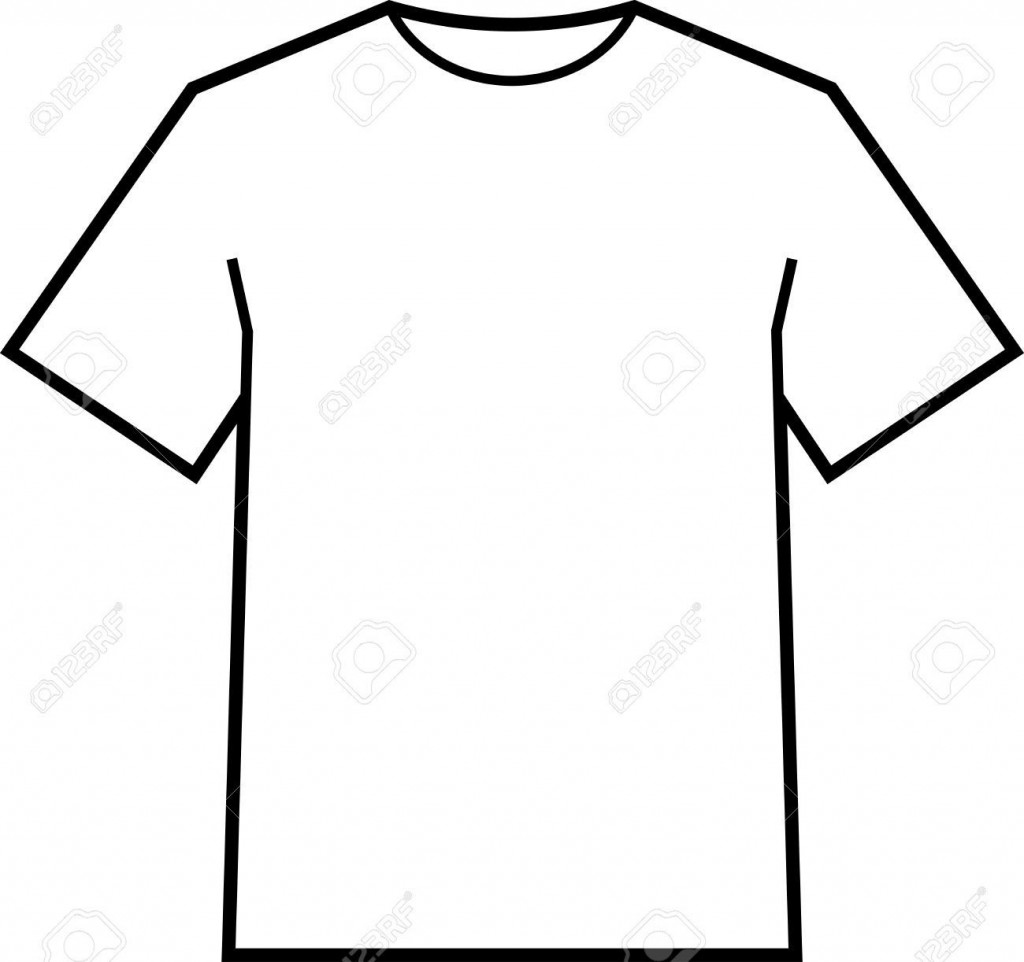 002 Fantastic Blank Tee Shirt Template Highest Clarity  T Design Pdf Free T-shirt Front And Back DownloadLarge