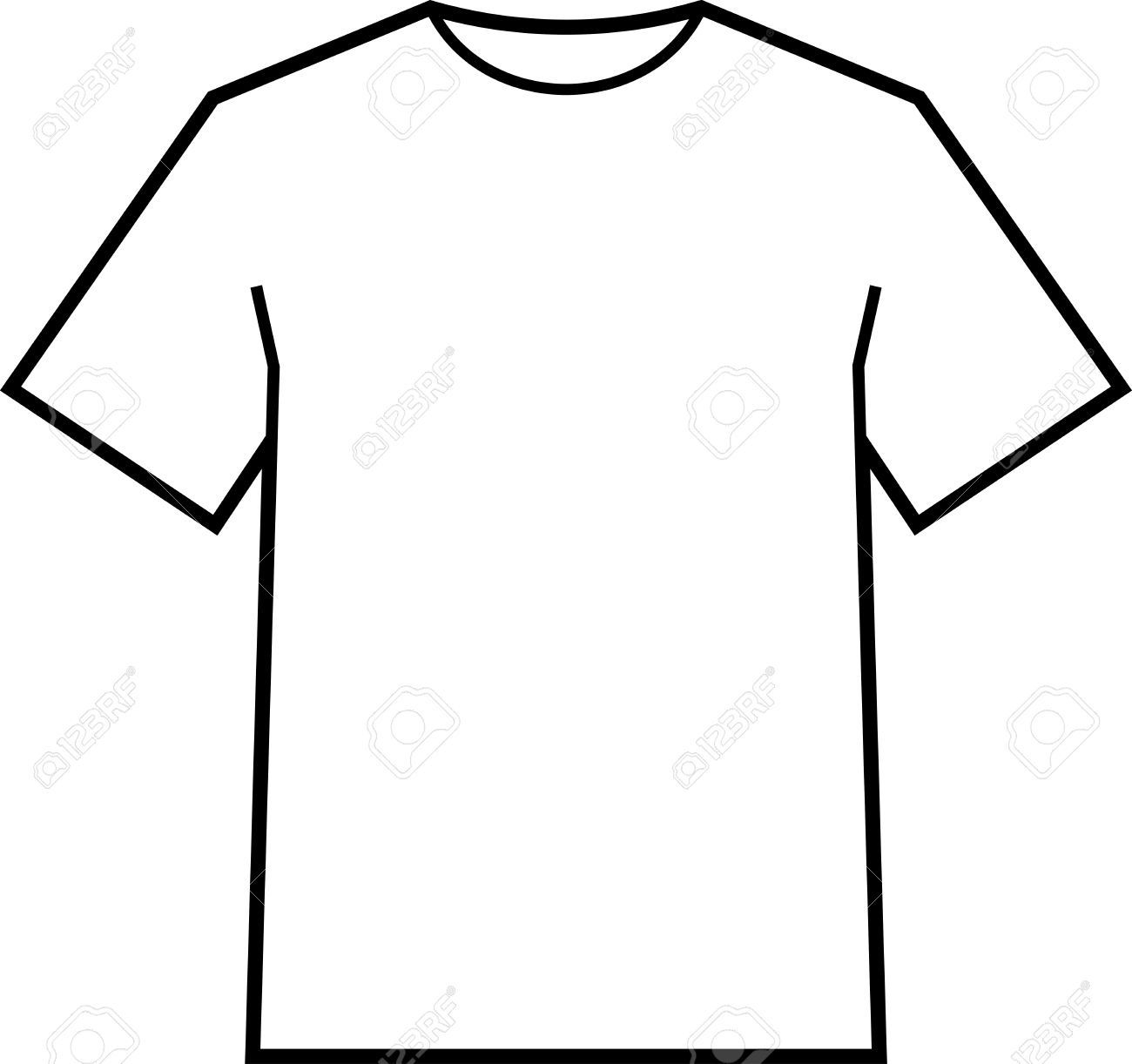 002 Fantastic Blank Tee Shirt Template Highest Clarity  T Design Pdf Free T-shirt Front And Back DownloadFull